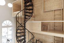Mindo.cl escaleras interiores