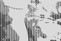 Gray Line Art