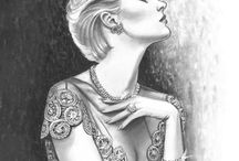 Jewelry Artwork & Paintings / Artwork of Jewelry & Famous Pieces