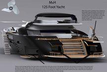 Yacht design / Soprattutto ispirazione di Iterior Design!