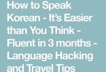 Korea language
