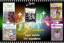 Sorteio de 750 Seguidores no meu Blog / http://rubiaartes.blogspot.com.br