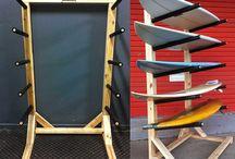Boards racks
