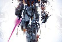 concept: cyborgs/mechs/robots/vehicles/spaceships