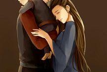 Rhaegar Targaryen and Lyanna Stark...
