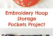 Пяльцы идеи - Embroidery hoop ideas