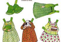 oblékací panenka