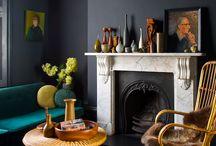 dark grey interiors