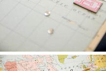 wedding scrapbook and guest book ideas