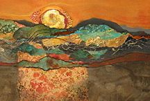 Sonoran sunset torched foil
