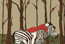 Z is for Zebras!  / My name is Sheena & I love zebras! Go fiqure! ;D / by Sheena Myers