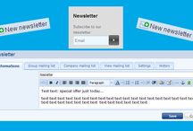 Newsletter / send to your customer news about product, service or any information. http://www.bizwebs.com/a/694