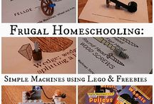 Homeschooling - with Legos! / by Tracy Zdelar | HallofFameMoms