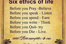 ethics!