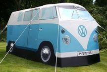 Volkswagen Camper Vans / Some of the coolest Volkswagen camper vans