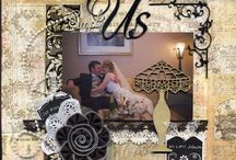 Scrapbooking - Wedding Pages / With this ring, I thee wed. / by Kathleen Ordiway