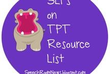 SLP Blogs on TpT