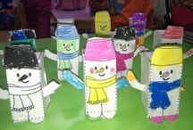 Winter season craft idea / This page has a lot of free Winter season craft idea for preschool kids,parents and teachers.