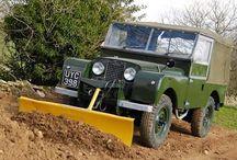 Land Rover-inspirasjon..