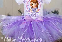Festa princesa Sofia / Idéias para organizar as festas