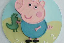 george pig cakes