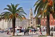 #SPLIT / Split, una de las ciudades más importantes del turismo de Croacia.
