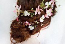 Hairstyles - flowers
