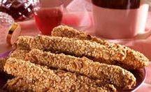 κριτσίνια &αλμυρα μπισκότα&αλμυρά μάφιν