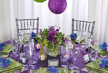 Purple & Green Baby Shower / Party