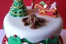 Xmas cake designs