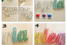 make string arts