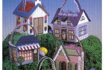 Easter basket Village