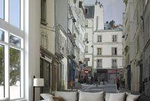 Decoración: Foto Murales / Ciudad / La ciudad en tu casa.. las calles, los edificios y ese toque personal de tener en casa los lugares que te gustan !!   Pregúntanos por más: http://173estudiocreativo.com/