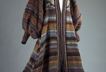 Knitted, crochet, fashion / Creative knitted and crocheted coats, jackets and all kinds of things.