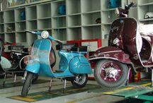 Vespa Restoration Project / by Sydney Mainster