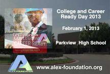 Alex Foundation Ads