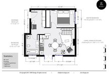 Plan 45sq feet
