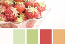 Color Palettes / Color combinations and inspirations.