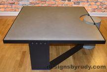 Concrete Furniture Design Chicago