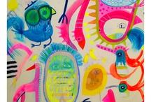 Art by Jessie Breakwell / A selection of my original artwork / by Jessie Breakwell Gallery