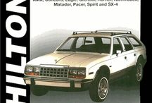 American Motors (AMC) Car Repair & Service Manuals / Some models of American Motors cars of the 1970s and 1980s are still popular today. Parts are readily available and used cars are in good supply. So, if you happen to own one of these vehicles, the American Motors (AMC) car repair manuals we offer are a must-have item. Intended for the DIY mechanic, they feature step-by-step disassembly and reassembly procedures with lots of photos, so you can repair, service, maintain, even restore your AMC.