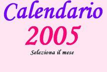 Calendario Scar 2005 / Giorgia Jessica C