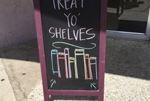 Chalk it up to Indies / A collection of the coolest chalkboards by indie booksellers