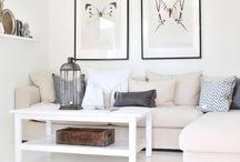 salon / obrazy nad kanapę