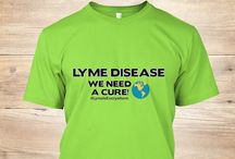Lyme Disease Awareness / Lyme disease awareness apparel and products - designed by ColorMeLyme.net