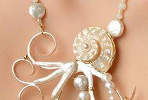 Zawieszki muszle/perły