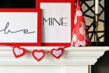 Valentine's Day / Valentine's Day Ideas | Valentine's Day Decor | Valentine's Day DIY | Valentine's Day Crafts