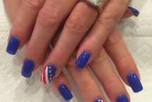 4th || of July / Nail Art for the Nation's Birthday!