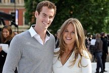 Andy Murray X Kim Sears / Andy Murray has been married to to long-time girlfriend Kim Sears since 2015.