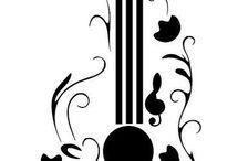 Instrumentos, e notas musicais